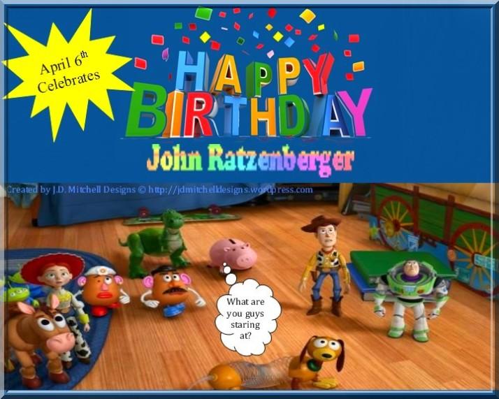 April 6th Celebrates John Ratzenberger